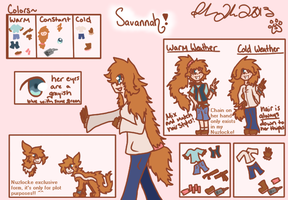 Savannah Reference by Samagirl