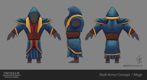 Mage Armor Concept by slipled