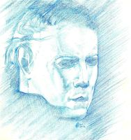 A quick Michael Myers sketch by SammyG23