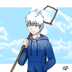 Jack Frost the Guardian of Fun by JackFrostOverland