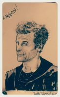 Twelfth Doctor sketch by elena-casagrande