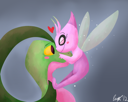 My Dear Grovyle... by MinaCarolina