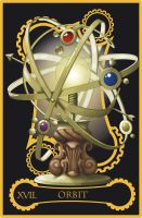 Steampunk tarot of the Stars by flamarahalvorsen