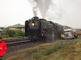 Union Pacific 844 by metalheadrailfan