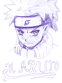 naruto pen by kanogt