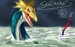 TRADE: Seadramon by Sketchasaurus
