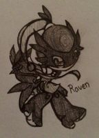 The Raven Doll by CrissyG