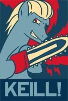 Obama pony posters 2: Keill! by Muramasa91