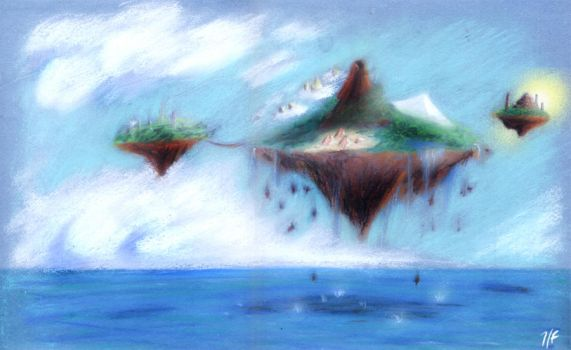 Floating Island by UpaUpa