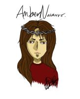 Amber And Her Circlet by kuraimatsuda