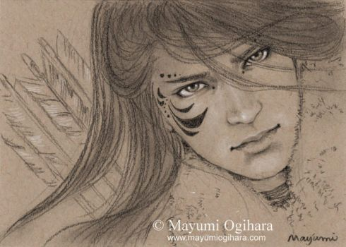 The Wild Hunt - sketch by MayumiOgihara