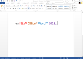 The NEW Office 2013 Suite PREVIEW Available for DL by dAKirby309