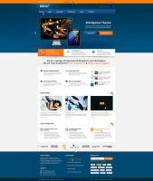 BizFolio Responsive Unique HTML Theme by brillianthemes