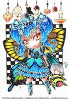 Comission - Butterfly girl by hiru-miyamoto