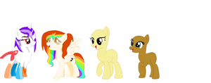 {WIP}All my OC's! by sparkIinq