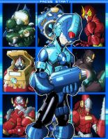 Megaman Select by RecklessHero