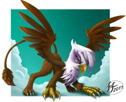 Gilda the Griffon by 14-bis