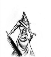 Pyramid Head by EC-DarkMatter