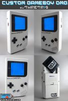 Custom Gameboy WHITE BOY by Thretris