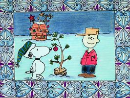 Charlie Brown Tree by Lou-in-Canada