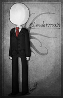 .:Slenderman Chibi:. by PuRe-LOVE-G-S
