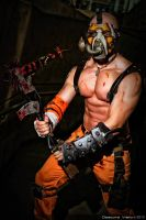 Borderlands Psycho Krieg Cosplay by SKSProps