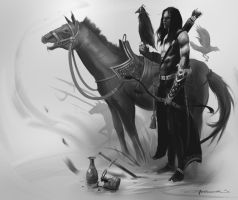 The Mongol by JamieRomoser