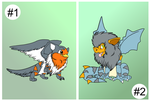 Growlithe Crosses for 2 Clutches by Cattensu