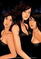 Mayana Girls by Dedefox