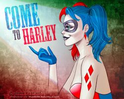 Come to Harley by artlekina