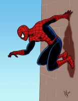 LBCC Spider-Man colored by pjperez