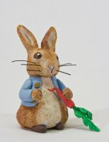 Sculpey Peter Rabbit by ChloeMcGhoe