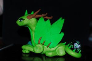 Forest Dragon by xColere