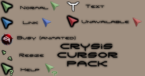Crysis 2 Cursor Pack by Cyberdyne12489