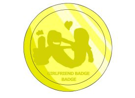 Girlfriend Badge by RyuPointGame