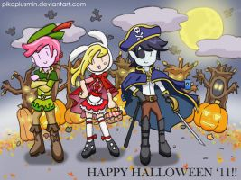 AT: Trick or Treat Time :D by pikaplusmin