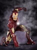 Speed painting Ironman by Daviddleonluis