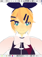 mmd childish war rin wip lol by whimsicottsh