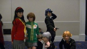 katsucon 19 2013: Persona 4 gang (Now with Yukiko) by SpikeJet2736