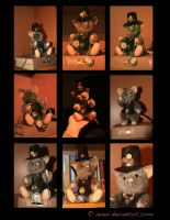 Plushie: Philias the Steampunk Mouse by Avanii