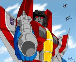 Starscream by Peccadillos