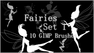 GIMP Fairies Set 1 by Illyera