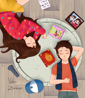 Dipper and Mabel by ValeriZombie