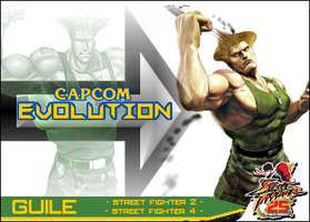 Guile - Evolution Card by MrABBrown