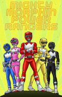 Power Rangers by RamonVillalobos