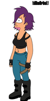 Alternate Leela by Spider-Matt