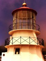 Lighthouse in Shelter Cove, California by Mad-Twatter