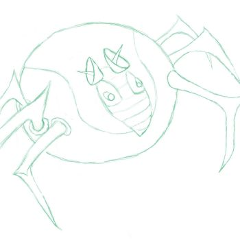Spider mouse . . . thing by Zerone-Penguin