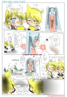 Rin.Len.Miku and Leek by Prissy99