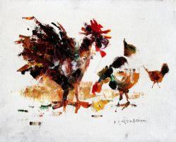 Rooster - 1972 by zampedroni